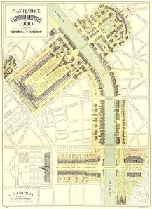Paris Expo Sergisi Yerleşim Planı