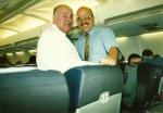 Yavuz Ertürk - Bülent Pakman İstanbul-Tel Aviv uçağında