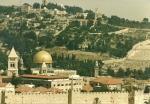 Kudüs eski şehir ve Kubbet-üs-Sahra