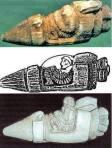 1975 de Van dolaylarında arkeolojik kazılardan çıkarılan uçuş aracı modeli heykelcik