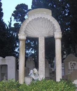 Üç Sütun Sembolü – Bülbülderesi Mezarlığı