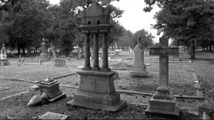 Üç Sütun Sembolü - Mt. Carmel Konverso Mezarlığı - Chigaco