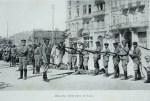 Bakü'de talim yapan Ermeni güçleri