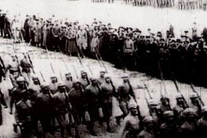 Kafkas İslam Ordusu Şamahı'dan geçerken