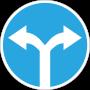 Düz gidiş yoktur sağa veya sola dönebilirsiniz