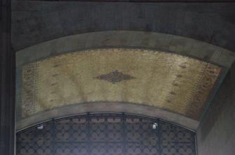 Eski Türk kilimlerinden alınmış geometrik motifler