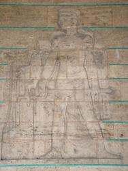 Anıtkabir'de kartal ve genç rölyefi