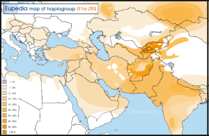 Haplogroup-R1a-Z93-Asia