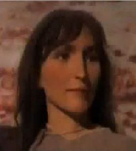 Lolan'ın Urumçi müzesindeki balmumu heykeli