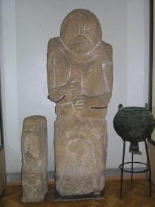 5. yüzyıla ait İskit bengü taşı