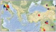 Toskana'da bulunan haplotipler Orta Anadolu, Orta Doğu ve Kafkas halklarıyla örtüşmüştür