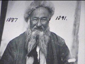 Eski bir Hunzalı Mir Sefdar Han'ın hatları tipik Orta Asya Türk ırkının özelliklerini taşıyor