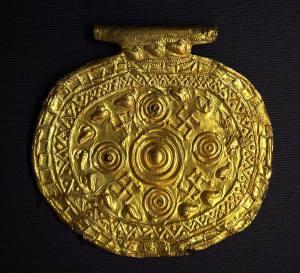 Svastikali Etrüsk penezi Bolsena İtalya MÖ 700- MÖ 650