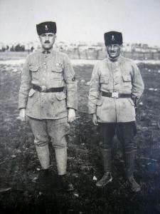 Milli Mücadeleye karşı Osmanlı'nın vatan haini Hilafet ordusu askerleri