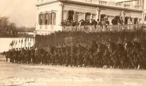 Türk Ordusuna karşı savaşan Osmanlı'nın süvarileri