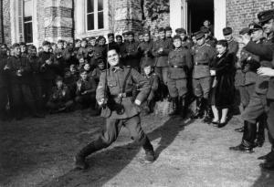 Türkistanlılar. Ekim 1943, Kuzey Fransa