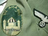 BiZ ALLA Bilen - Allah Bizimle - Türkistan Lejyonu Arması