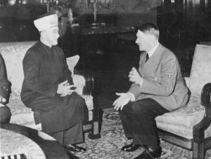 Emin el Hüseyni Adolf Hitler ile görüşüyor, Aralık 1941