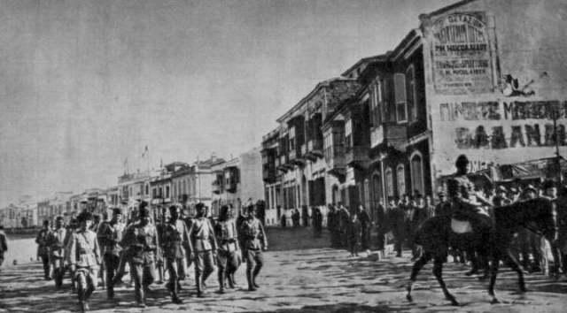Türk süvari birliklerinin İzmir'e girişi