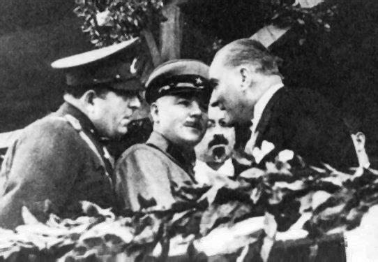 Voroşilov'un Ankara Ziyareti 29 Ekim 1933