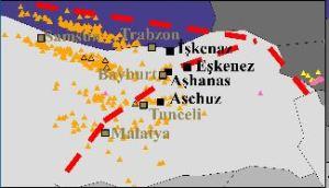 Kuzey-Doğu Anadolu'da Aşkenaz köyleri ve ticaret yolları